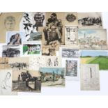 Bernard Kay (1927-2021) A large collection of drawings and watercolours to include French