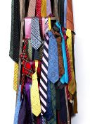 An extra-ordinary collection of in excess of three hundred, mainly silk ties by T.M. Lewin, Fox &