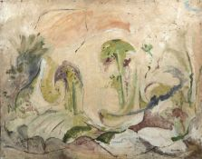 Bernard Kay (1927-2021) Untitled landscape, 1951 signed and dated (lower right) oil on board 102 x