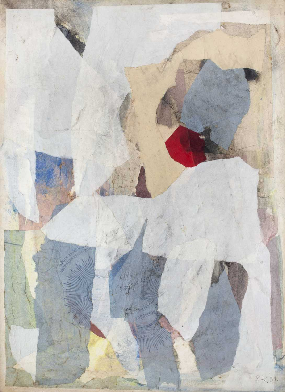 Bernard Kay (1927-2021) Three unsigned oil paintings largest 82 x 106cm; together with two signed - Image 4 of 8