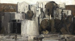 Bernard Kay (1927-2021) Le Templier, Collioure, 1956 signed and dated (lower right), titled (to