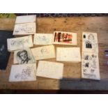 Bernard Kay (1927-2021) Ten artist's sketchbooks, 1940-1960 to include Paris period abstracts and