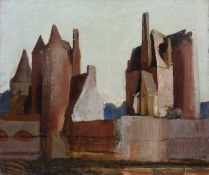Bernard Kay (1927-2021) Le Moulin a Lassay, 1972 signed (lower right), titled and dated (to reverse)