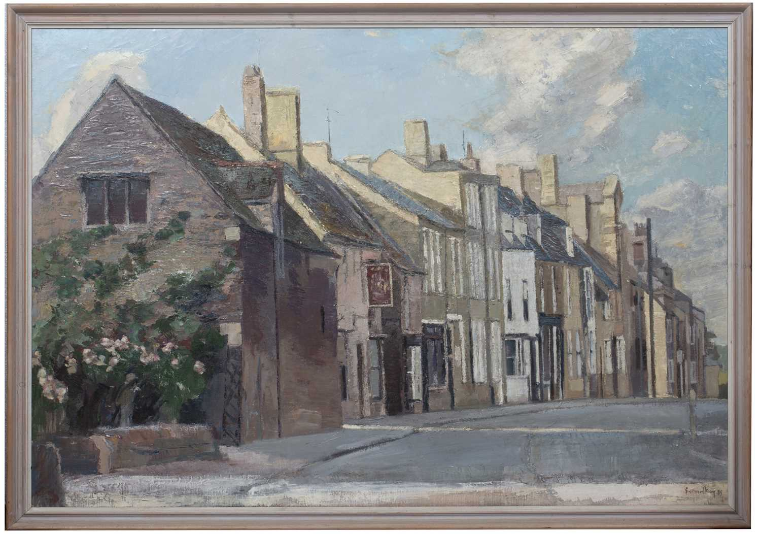 Bernard Kay (1927-2021) Oundle, West Street, 1985 signed and dated (lower right), titled (to - Image 3 of 4