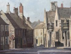 Bernard Kay (1927-2021) North Street, Oundle, 1984 signed and dated (lower right), titled (to