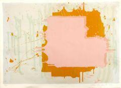John Hoyland (1934-2011) 'Untitled - From Mark Rothko Memorial portfolio' lithograph, numbered 20/