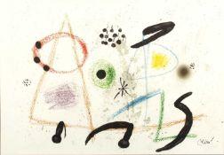 Joan Miro (1893-1983) 'Maravillas con variaciones acrósticas en el jardín de Miró' lithograph,