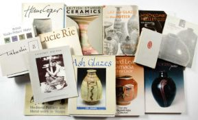 Collection of Studio Ceramic reference books and exhibition catalogues to include: Hans Coper by