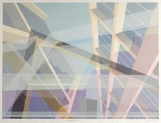 John Keany (Contemporary) 'Expansion I' screenprint, numbered 100/175, signed in pencil lower right,
