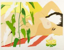 Tully Crook (b.1938) 'Summer' lithograph, numbered 167/200, signed and dated 1981 lower right,