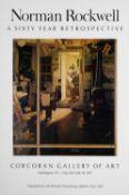 Exhibition Posters Normal Rockwell, Retrospective, 1972, 78 x 55cm;Glynn Boyd- Harte, London/Paris/