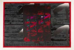 Akira Kurosaki (b.1937) Hidden Forest, 1976signed, titled, numbered in red crayonscreenprint61 x