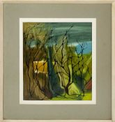 Leonard Turner (Contemporary) Tangled Growth signed (lower right) oil 43 x 35cm.Condition report: