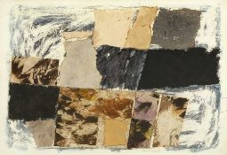 John Eaves (b.1929) Gentle Purple, 1963 signed, titled, and dated in pencil (lower right) mixed