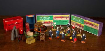 A Hornby series modelled miniatures box set number 1 'Station Staff' together with a box set