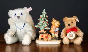 A Steiff and Goebel exclusively for Hummel 'Wonder of Christmas' limited edition collectors set in