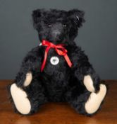 A Steiff modern 1912 replica teddy bear numbered 29/1912, 48cm high complete with original