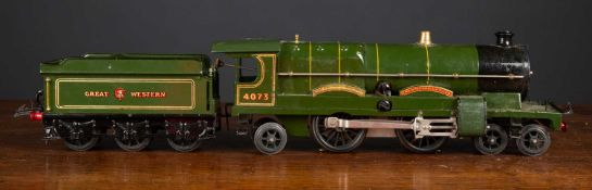 A Hornby series O gauge E320 electric locomotive 'Caerphilly Castle', complete with spanner in paper