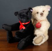A Steiff limited edition 'Bella' teddy bear numbered 9/2000, 35cm high together with a Stieff '
