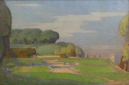 John Mansfield Crealock (1871-1959) 'St. Cloud, Paris', signed lower left, 52.5cm x 80cmCondition