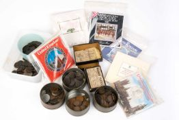 A collection of Georgian and later coinage and tokens, both British and continentalCondition report: