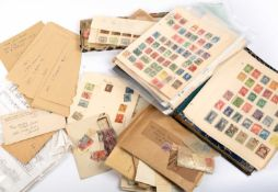 A collection of 19th century and later British and World stampsCondition report: At present, there