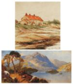 J* Armitage (19th / 20th century) 'Old Stead, Beadnell', signed, titled and dated 1923, watercolour,