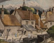 Edward Leslie Badham (1873-1944) 'Untitled view of Hastings' watercolour, unsigned, 10.5cm x 13.
