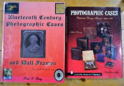 Two photographic case reference books the first by Paul K Berg titled 19th Century Photographic