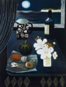 Mary Fedden (1915-2012) 'Two lilies' print, unsigned, circa 2006, 25cm x 20cmCondition report: