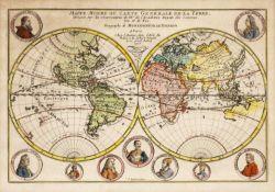Mappe-Monde ou Carte Generale De La Terre, Dressee Sur les Observations de Mrs. De L'Academie Royale
