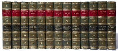 Scott (Sir Walter) 'The Waverley Novels'. 13 Vols. with portrait frontispiece and engraved title