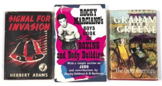 Rocky Marciano's Boys Book of Boxing and Body Building. Souvenir Press, London 1960. d/w (torn) plus