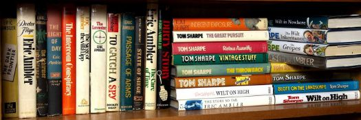 Ambler (Eric) (1909-1998) Fourteen titles, early editions d/ws plus Sharpe (Thomas) (1928-2013) 14