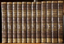 Lessing (Gotthold Ephram) (1729-1781) German Writer and Philosopher. 12 Vols. with portrait