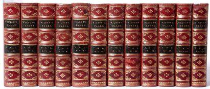 Wilson (John Mackay) Leighton (Alexander) Ed. Wilson's Tales of the Borders and of Scotland. 24 Vols