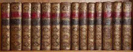 Rollin (Charles) Histoire Ancienne des Egyptiens, des Carthaginois... 14 Vols. New Ed. Etienne,