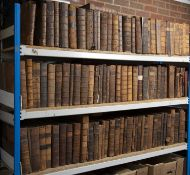 17th/18th century Law Reports. 190 Vols. Fo. All full calf. In much used condition and s.a.f. (190)