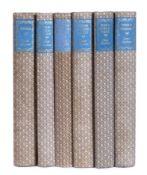 Austen (Jane) Works. 6 Vols. 8vo. Zodiac Press 1948-62. Uniformly bound with blue title. Edges