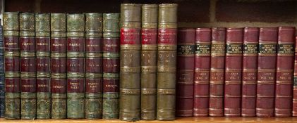 Bindings - A collection of seventeen volumes, Lecky History of England, Shakespeare etc. Part