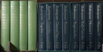 Folio Society A Norman Jeffares (Ed.) Restoration Comedy 4 vols green cloth gilt title 1974 s/c plus