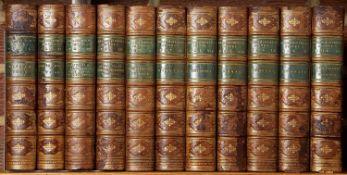 Beaconsfield (Earl of, Benjamin Disraeli) Hughenden Edition. 11 Vols. Longmans Green, London 1882.