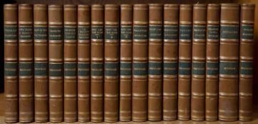 Browning (Robert) English Poet (1812-1889) Works thereof in 17 vols. Macmillan, New York and