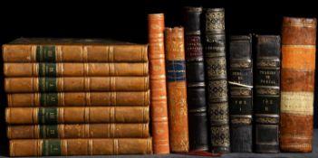 Opere Scelte di Metastasio. 2nd Ed. 7 Vols. Seguin, Avignon 1819. Small format (142 x 90mm). Half