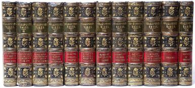 Shakespeare (William). The Works thereof. 'Knight's Cabinet Edition'. 12 Vols. W & R Chambers,