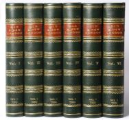 Thornbury (Walter) 'Old and New London'. Cassell, Petter and Galpin. 6 Vols. Half green leather with