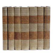 Rosini (Giovanni) Storia Della Pittura Italiana. 7 Vols. Niccolò Capurro, Pisa 1839. With plates,