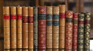 A group of five bindings to include: Funck-Brentano (Fr) Ed. L'Histoire de France Racontée a Tous.