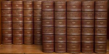 Scott (Sir Walter) The Waverley Novels. 12 Vols. Centenary Edition. A & C Black, Edinburgh. 8vo.