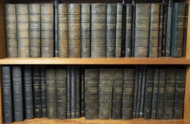 Devon & Cornwall Record Society. 44 Publications 1930-60's. Half green leather with gilt titles.
